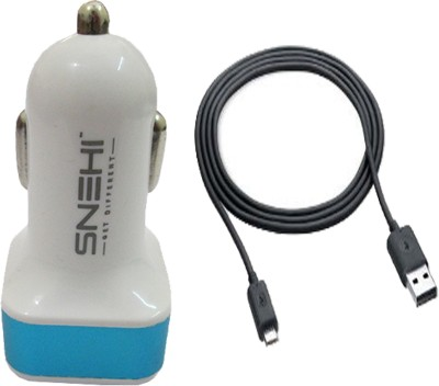 Snehi CHG0035 Dual USB Port Car Charger