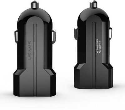 Usams 1.0 amp, 2.1 amp Car Charger