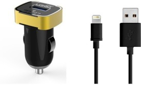 Ldnio New Design Smart look Fast Charger 2.1 Amp Single Port With Lightinng USB Cable For Apple Iphone Ipad Car Charger