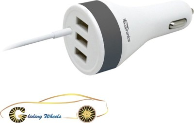 Gliding Wheels 2.1 amp, 1.0 amp Car Charger