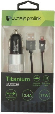 UltraProlink 3.4 amp Car Charger