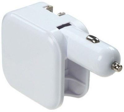 Finger's 1.0 amp Car Charger(White)