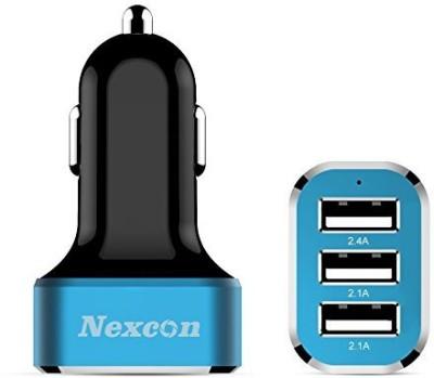 Nexcon-6.6A-Triple-USB-Car-Charger
