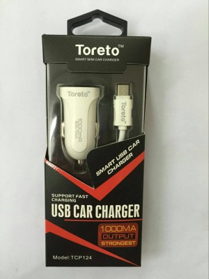 Toreto 1.0 amp Car Charger