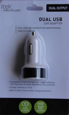 I-TEK 1.0 amp, 2.4 amp Car Charger