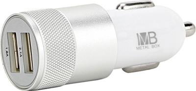 Metal Box 1.0 amp, 2.1 amp Car Charger