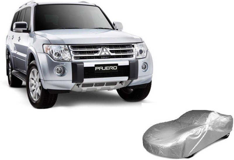 ACCESSOREEZ Car Cover For Mitsubishi Pajero(Without Mirror Pockets)