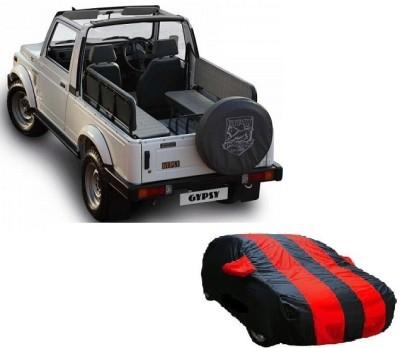 Dog Wood Car Cover For Maruti Suzuki Gypsy