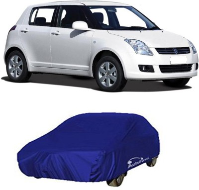 Take Care Car Cover For Ford Figo(Blue)