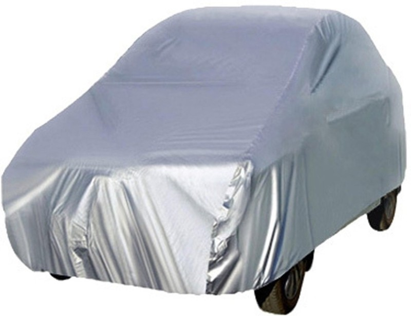 GOODLOOK Car Cover For Hyundai Santro (Without Mirror Pockets)(Silver)