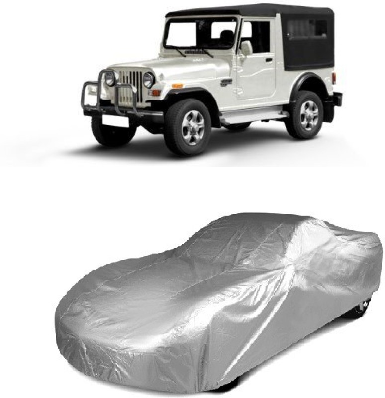 Autowheel Car Cover For Mahindra Jeep(Without Mirror Pockets)