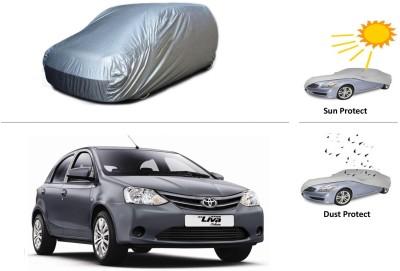 CreativeVia Car Cover For Toyota Etios Liva