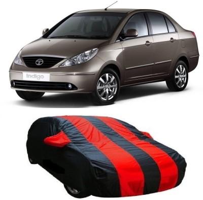 Dog Wood Car Cover For Tata Indigo