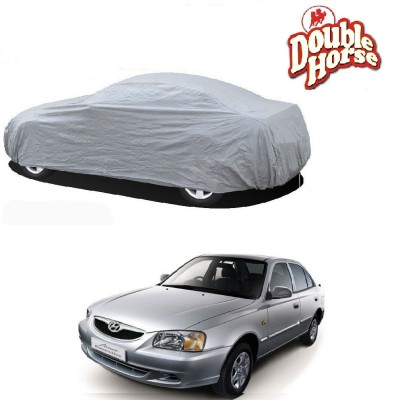 Double Horse Car Cover For Hyundai Accent