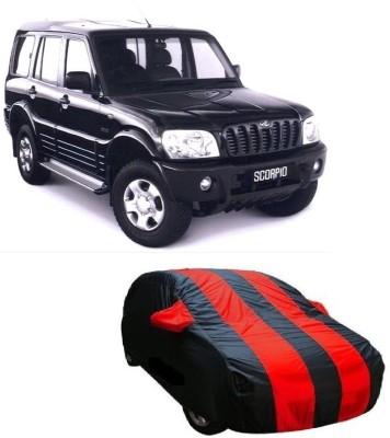 Dog Wood Car Cover For Mahindra Scorpio