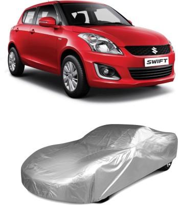 Dog Wood Car Cover For Maruti Suzuki Swift