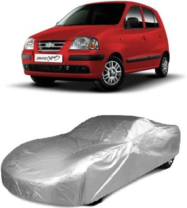 ACCESSOREEZ Car Cover For Hyundai Santro Xing(Without Mirror Pockets)