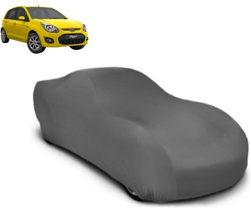 Big Impex Car Cover For Ford Figo(Grey)