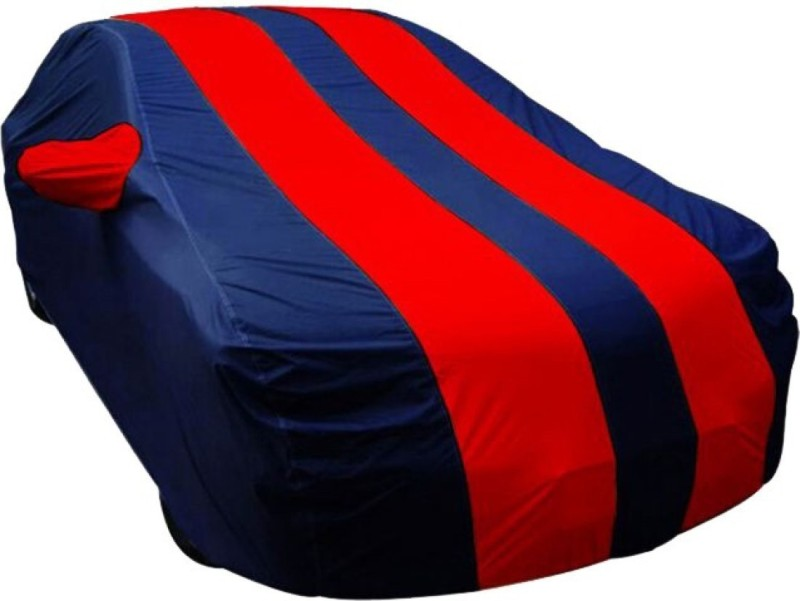 Falcon Car Cover For Hyundai Santro (With Mirror Pockets)(Red, Blue)