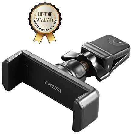 Aikema Car Mobile Holder for Clip(Black)