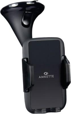 Amkette Car Mobile Holder for Windshield(Black)