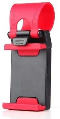 AutoSun Car Mobile Holder for Steering(Red)
