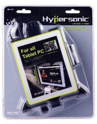 Hypersonic Car Mobile Holder for Headrest(Black)