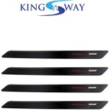 KINGSWAY Plastic Car Bumper Guard (Black...