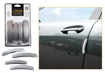 I-Pop Plastic Car Door Guard(Grey, Pack of 4, Maruti, Swift Dzire)