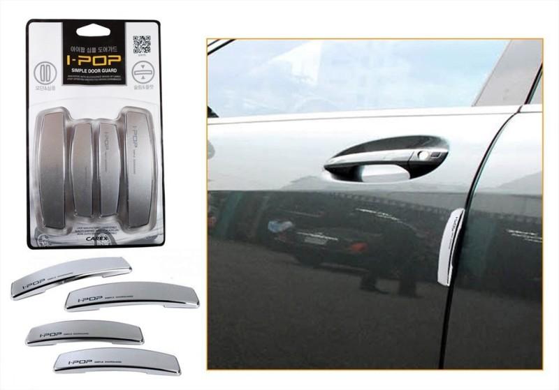 I-Pop Plastic Car Door Guard(Grey, Pack of 4, Maruti, SX4)