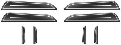 Autographix Resin Car Door Guard(Black, Pack of 1, Universal For Car, Universal For Car)