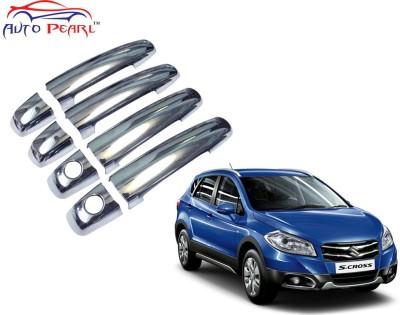Auto Pearl Premium Quality Chrome Door Handle Latch Cover - Maruti Suzuki S Cross Maruti Car Door Handle(Pack of 4)