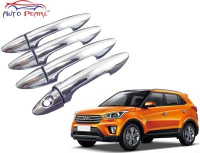 Auto Pearl Premium Quality Chrome Door Handle Latch Cover - Hyundai Creta Hyundai Car Door Handle