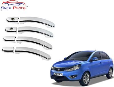 Auto Pearl Premium Quality Chrome Door Handle Latch Cover - Tata Zest Tata Car Door Handle
