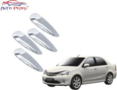 Auto Pearl Premium Quality Chrome Door Handle Latch Cover - Toyota Etios Toyota Car Door Handle(Pack of 4)
