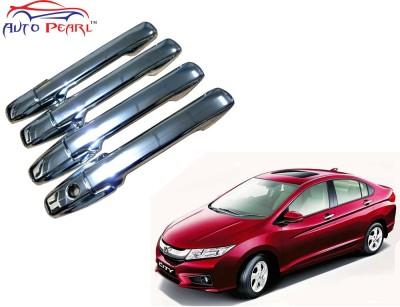 Auto Pearl Premium Quality Chrome Door Handle Latch Cover - Honda City Ivtec New Honda Car Door Handle(Pack of 4)