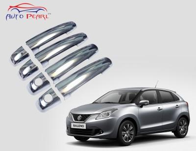Auto Pearl Premium Quality Chrome Door Handle Latch Cover - Maruti Suzuki New Baleno Maruti Car Door Handle