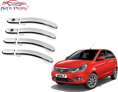 Auto Pearl Premium Quality Chrome Door Handle Latch Cover - Tata Bolt Tata Car Door Handle