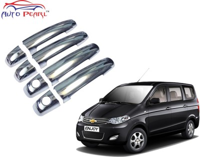 Auto Pearl Premium Quality Chrome Door Handle Latch Cover - Chevrolet Enjoy Chevrolet Car Door Handle(Pack of 4)