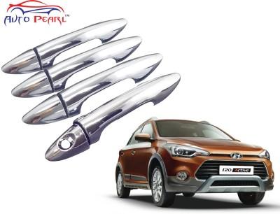 Auto Pearl Premium Quality Chrome Door Handle Latch Cover - Hyundai I20 Active Hyundai Car Door Handle