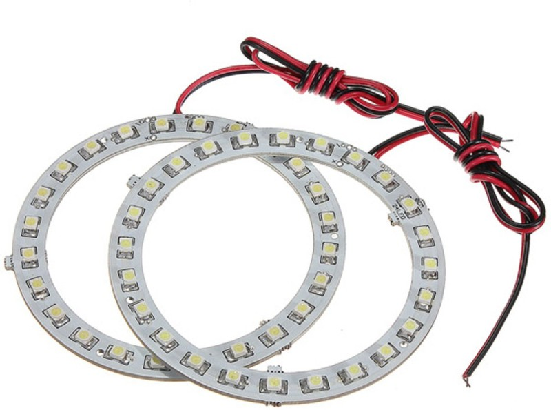 Capeshoppers Angel Eyes LED RedCS003235 Car Fancy Lights(Red)