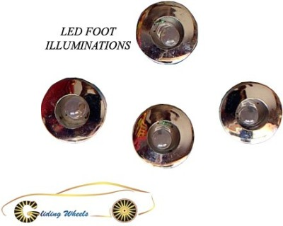Gliding Wheels GW-LED-UNVSL-BUTT-LIGHTS-MLTCLR-06 Car Fancy Lights