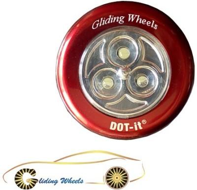 Gliding Wheels GW-INT-RF-LGHT-BLACK ROUND01 Car Fancy Lights