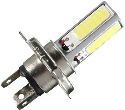 Vheelocityin Led Cob White Light Bike Headlight Bulb / Motorcycle Bulb For Hero Motocorp Passion Pro Tr Car Fancy Lights