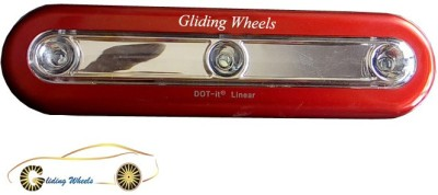 Gliding Wheels GW-INT-RF-LIGHT-OVAL RED01 Car Fancy Lights
