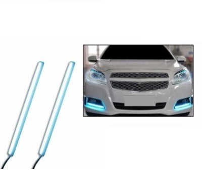 ACCESSOREEZ Led DRL Day time Running Water Proof Car Fancy Lights