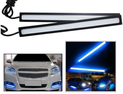 Autosun Daytime Running Lights Cob LED DRL Blue for Maruti Suzuki Zen Car Fancy Lights