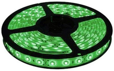 AutoStark 5 Meters Waterproof Cuttable LED Lights Strip Roll - Green Car Fancy Lights(Green)