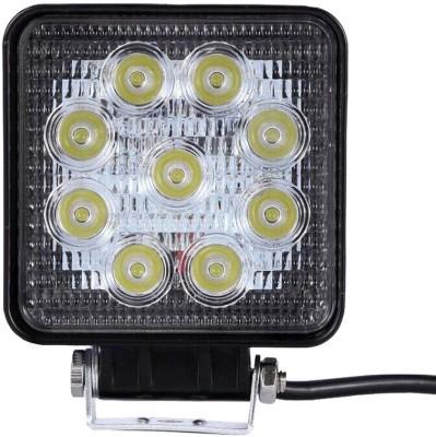 Vheelocityin 9 Led Square Cree Auxillary Car Fog Lamp 27W Set of 2 For Skoda Superb