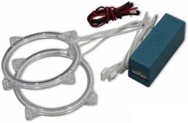 Cape shoppers CS003710-Angel Eyes CCFL Blue CCFL Headlight With Bulb For Maruti